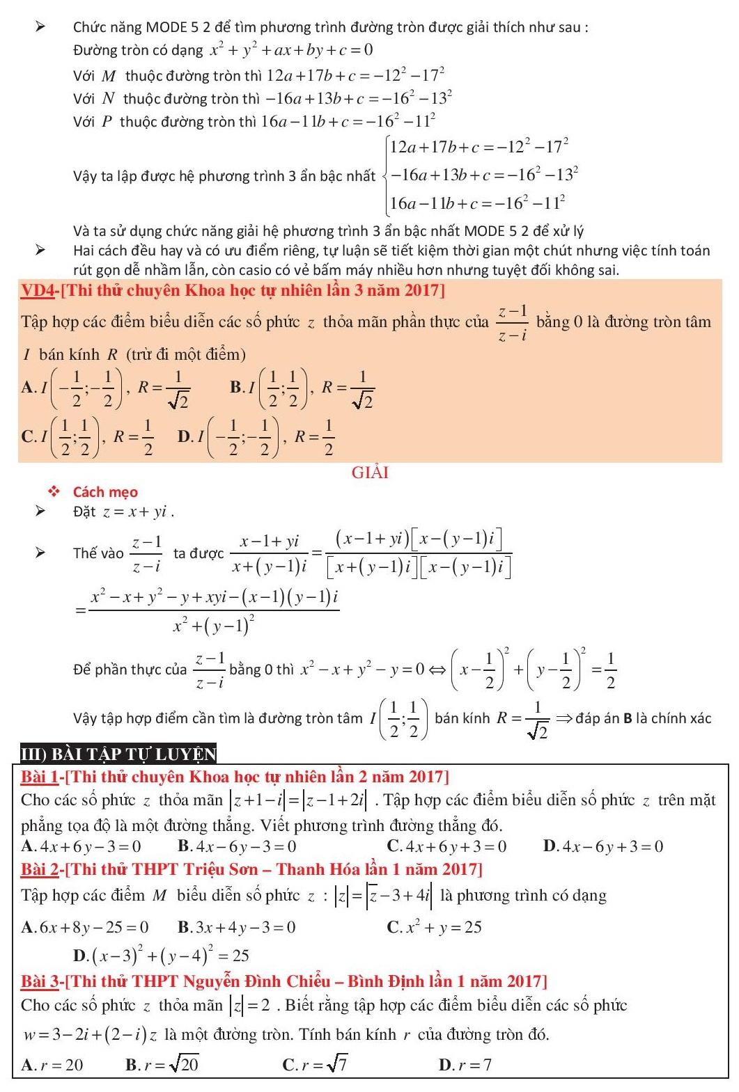 Giải dạng quỹ tích số phức bằng máy tính casio (4).jpg