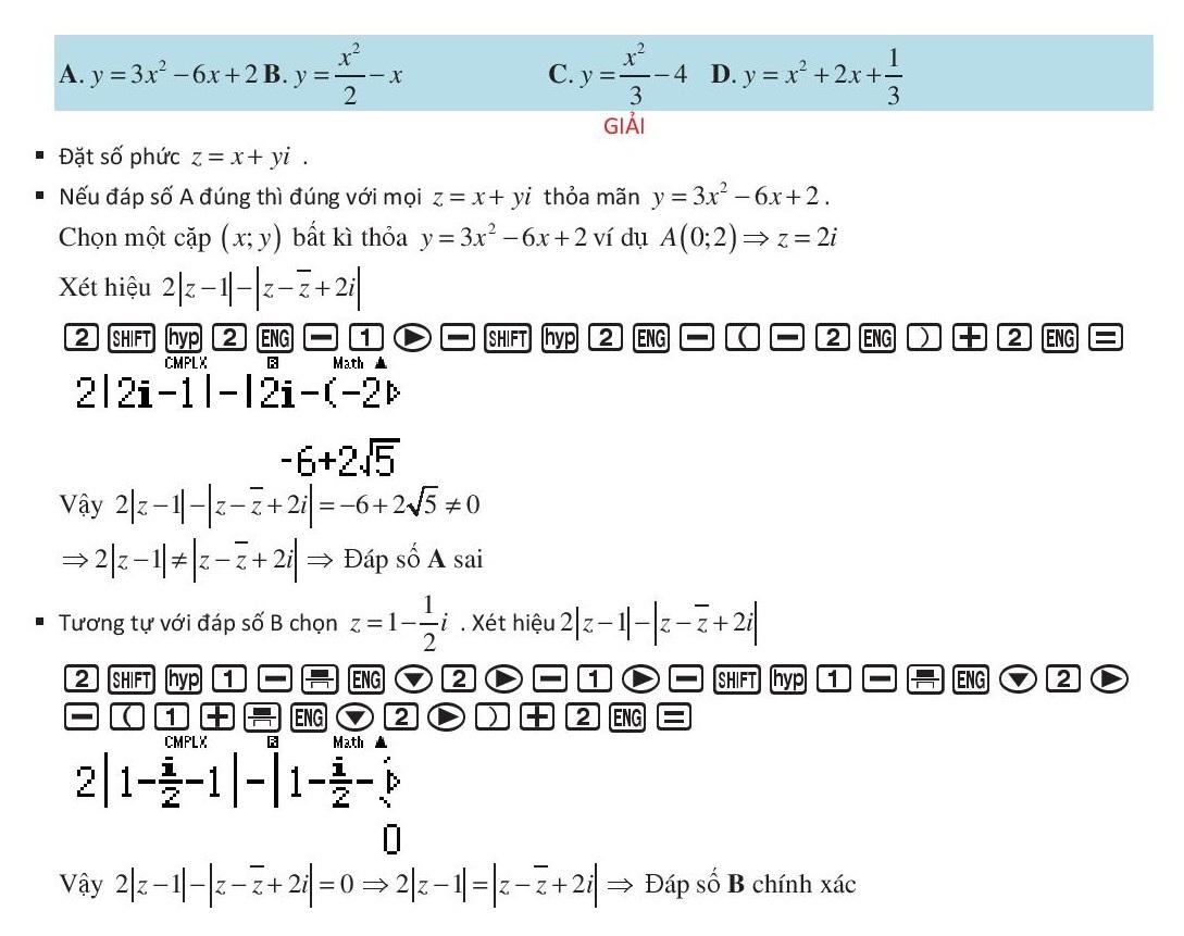 Giải dạng quỹ tích số phức bằng máy tính casio (8).jpg